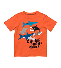 Carter's® Baby Boys' Orange Shark Tee