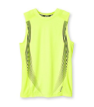 ASICS® Boys' 8-20 Ventilation Muscle Shirt