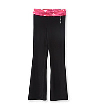 Mambo® Girls' 7-16 Raspberry Camo Yoga Pants