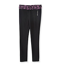 Mambo® Girls' 7-16 Purple Lace Skinny Yoga Pants