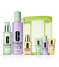Clinique 3 Step 1 & 2 Great Skin Home & Away Gift Set (A $85 Value)