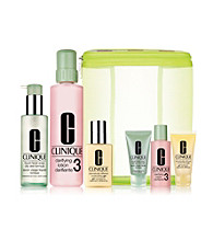 Clinique 3 Step 3 & 4 Great Skin Home & Away Gift Set (A $85 Value)