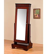 Acme Mattie Cherry Mirror Jewelry Armoire
