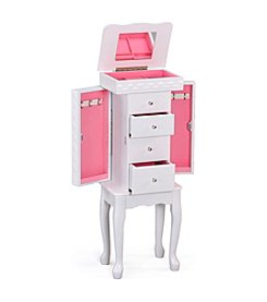 Acme Didi White Jewelry Armoire
