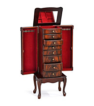 Acme Vivan Cherry Jewelry Armoire