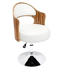 Lumisource® Cello Zebra/White Barstool