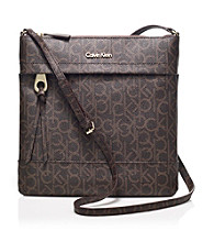 Calvin Klein Brown Key Item Crossbody