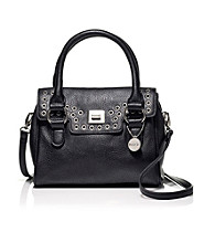 Kensie® Small Grommet Flap Satchel