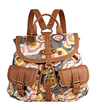 Nine West Vintage America Collection® Coral Multi Small Dog Clip Backpack
