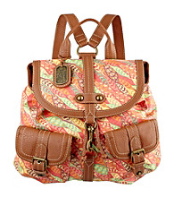 Nine West Vintage America Collection® Orange Multi Small Dog Clip Backpack