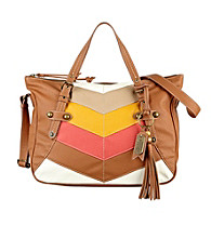 Nine West Vintage America Collection® Colorblocked Sun Block Medium Satchel