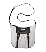 Nine West® White/Black Snake Charmer Medium Crossbody