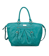 Nine West® Miami Blue Snake Charmer Large Satchel