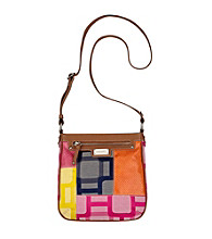 Nine West® Cobalt Multi Vegas Signs Patchwork Medium Crossbody