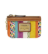 Fossil® Emory Stripe Zip Coin Purse