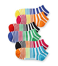 Steve Madden 6-pk. Stripe Bright Socks