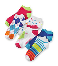 Steve Madden 6-pk. Argyle Bright Socks