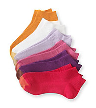 GOLD TOE® 6-pk. Red/Purple Rib Low Socks
