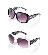 Nine West® Plastic Square Sunglasses