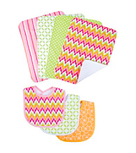 Trend Lab 7-pc. Savannah Bib and Burp Cloth Set