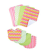 Trend Lab 8-pc. Savannah Bib and Burp Cloth Set