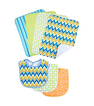 Trend Lab 7-pc. Levi Bib and Burp Cloth Set