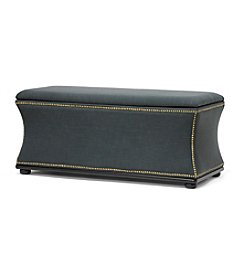 Baxton Studios Liverpool Linen Modern Storage Ottoman and Bench