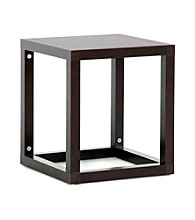 Baxton Studios Hallis Brown Modern Accent Table or Nightstand