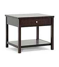 Baxton Studios Nashua Brown Modern Accent Table/Nightstand