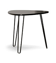 Baxton Studios Leto Dark Brown Modern Accent Table
