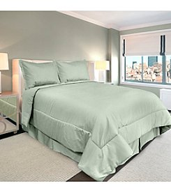 Veratex® Supreme Sateen 300-Thread Count Solid Comforter Set