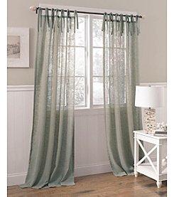 Laura Ashley® Danbury Tab Top Window Treatment