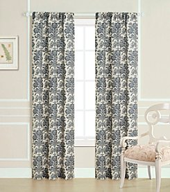 Laura Ashley® Tatton White and Charcoal Window Panel