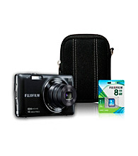 FujiFilm® FinePix JX680 16MP Black Camera with Accessories