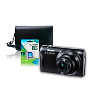 FujiFilm® FinePix T550 16MP Black Camera with Accessories