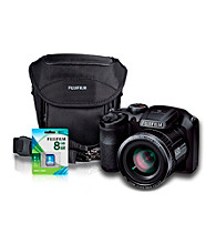 FujiFilm® FinePix S4800 16MP Black Camera with Accessories