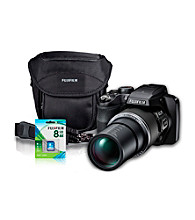 FujiFilm® FinePix S8200 14MP Black Camera with Accessories