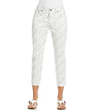 Jones New York Sport® Grey Multi Cropped Jean