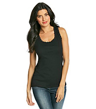 Jones New York Sport® Lace Trim Tank