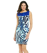 T Tahari® Sleeveless Scoopneck Shira Dress
