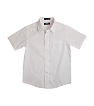French Toast® Boys' 2T-20 White Short Sleeve Classic Dress Shirt