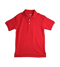 French Toast® Boys' 2T-20 Red Short Sleeve Pique Polo