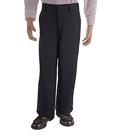 French Toast® Boys' 4-20 Black Adjustable Waist Pants