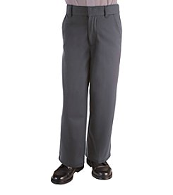 French Toast® Boys' 4-20 Grey Adjustable Waist Pants