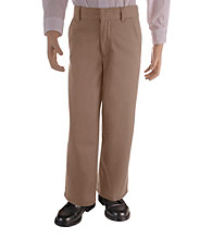 French Toast® Boys' 4-20 Khaki Adjustable Waist Pants