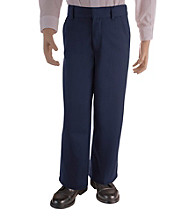 French Toast® Boys' 4-20 Navy Adjustable Waist Pants