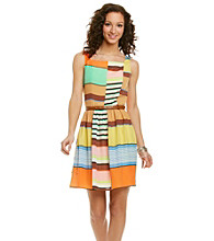 Jessica Simpson Multi Stripe Dress