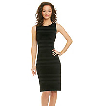 Calvin Klein Ribbed Sheath Dress