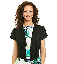 Lennie Flutter Sleeve Shrug