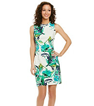 Ronni Nicole® Floral Print Sheath Dress